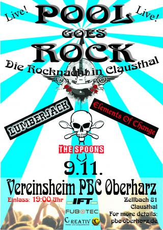 plakat pool goes rock 2013 s1